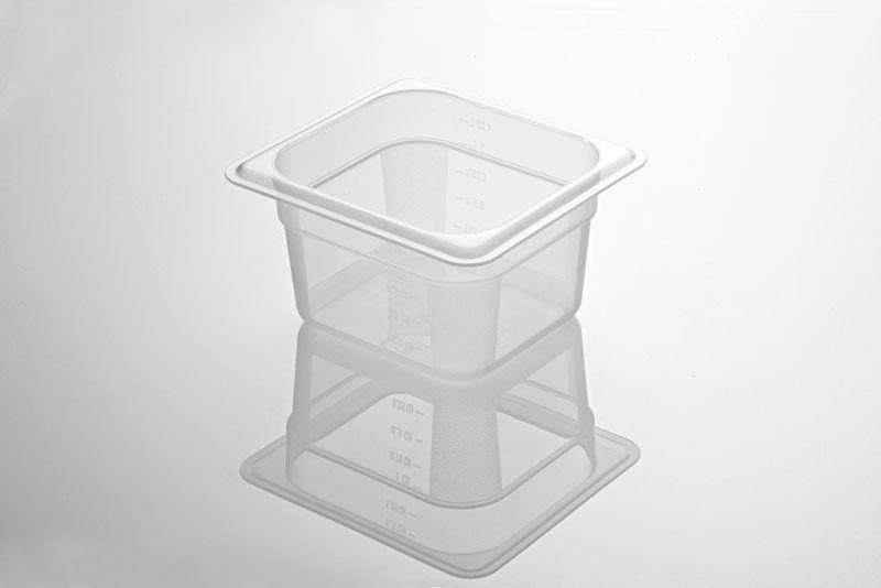 Tava gastronorm   GN 1/6-100 mm policarbonat