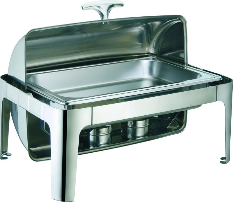 Chafing dish electric ca capac roll top