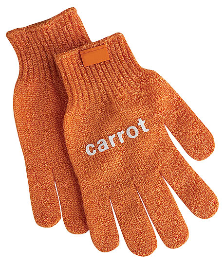 Manusi pentru curatat morcov