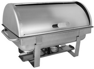 Chafing dish GN 1 1 rolltop