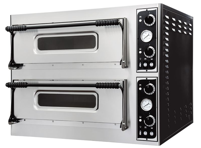 Cuptor pizza electric 12 pizza 32 cm, 2 camere
