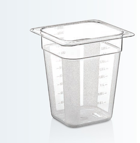 Tava policarbonat GN 1/6-200 mm
