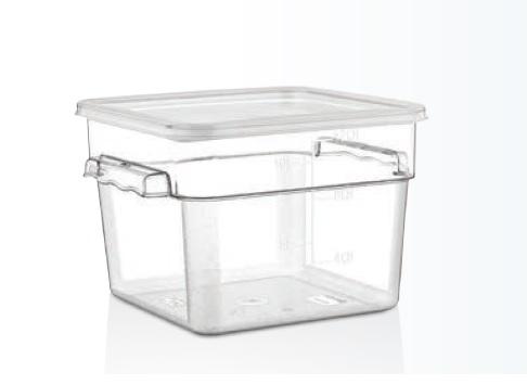 Container depozitare policarbonat cu capac 11,4 lt
