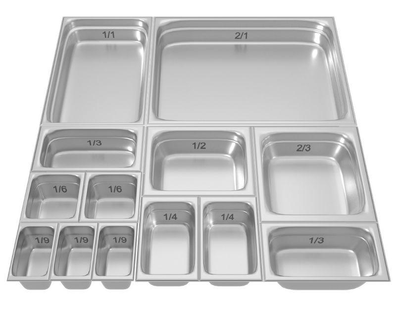 Tava gastronorm | GN 1/6-150 mm inox